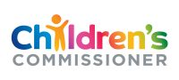 Graphic of Children's Commissioner logo