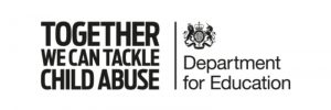 Graphic of Together We Can Tackle Child Abuse logo